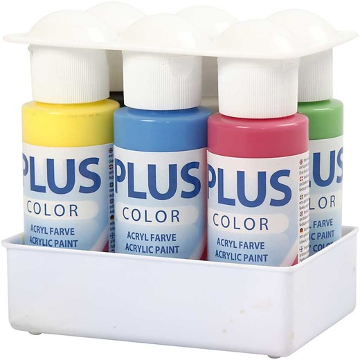 Plus Color Craft Paint - Color School