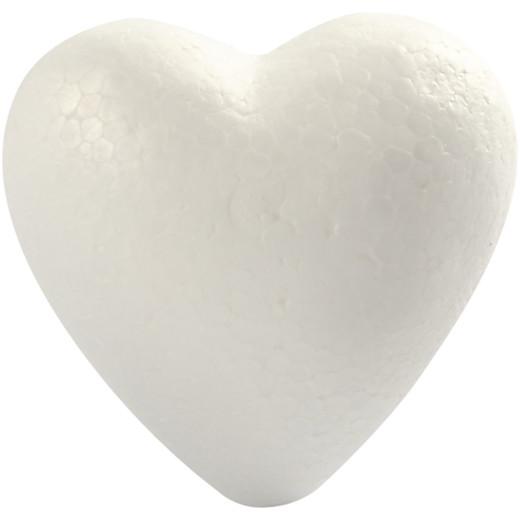 Polystyrene Hearts