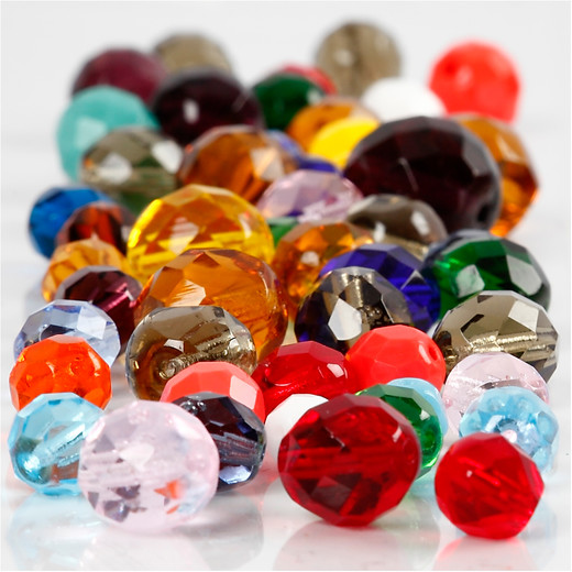 Faceted Bead Mix