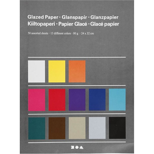 Glazed Paper - Assortment