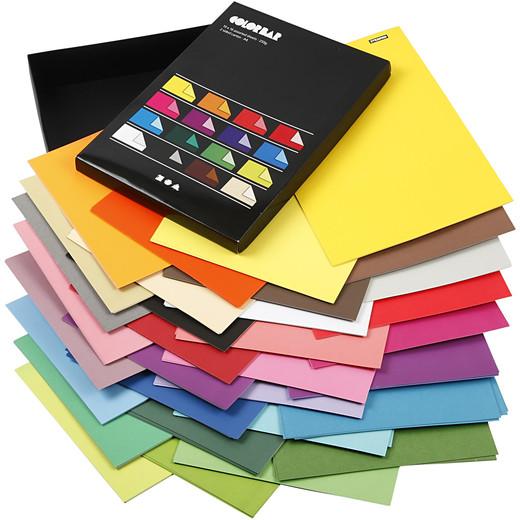 Color Bar Paper
