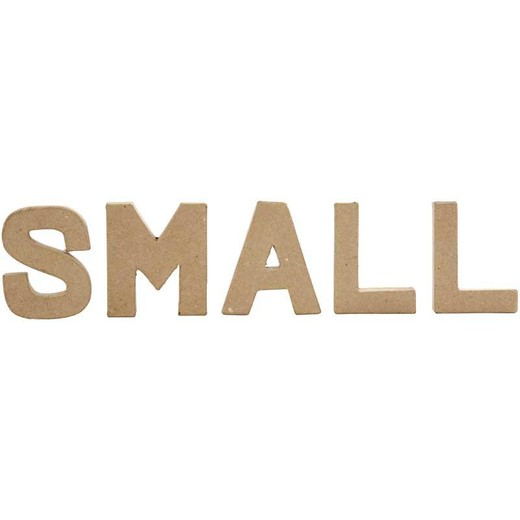 Letter, small