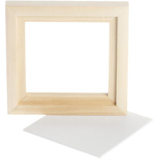 Framed Canvas Panel