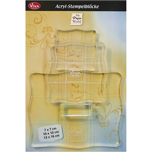 Acrylic Blocks - Assortment