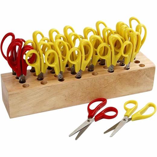 Kids Scissors with rack