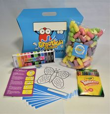 Creation Station Activity Kit - maize modelling and colouring activities