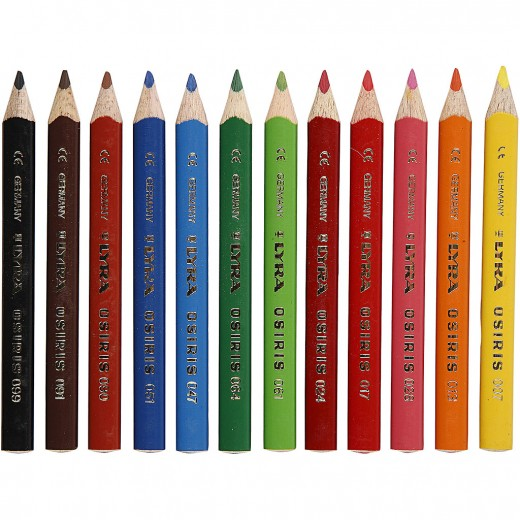 Osiris colouring pencils