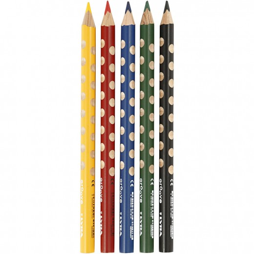 Groove colouring pencils