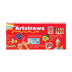 Artstraws Long Pack, Asst Colours