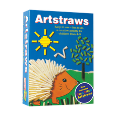 Artstraws Short Pack, Asst Colours