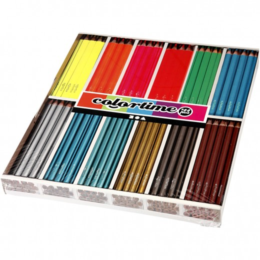 Colortime colouring pencils