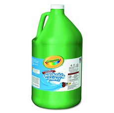 Crayola 128oz (3.79L) Washable Paint Green
