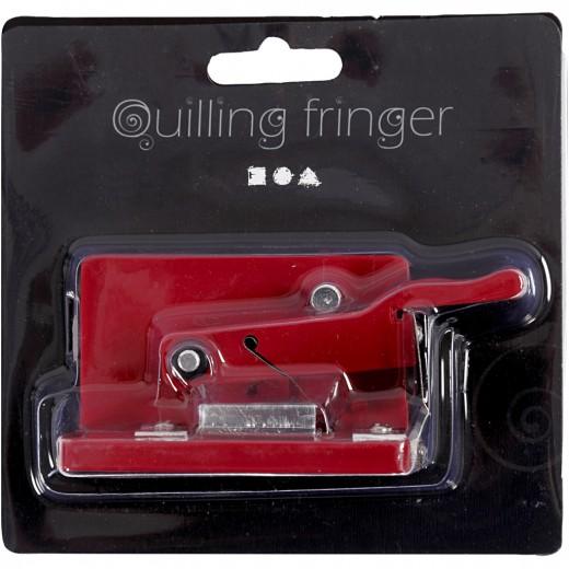 Quilling fringer