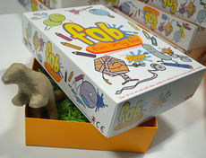 FAB  Designer Dinosaurs  - Fun Arty Box - OFFER