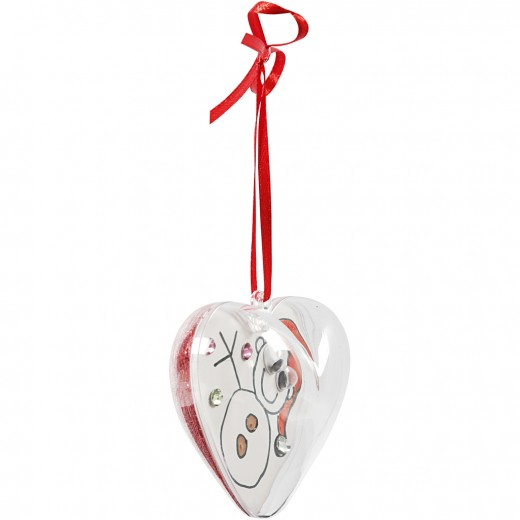 Heart-Shaped Baubles to Decorate