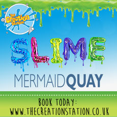 Slime Workshop Mermaid Quay 26th October