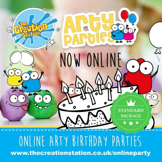 STANDARD PACKAGE arty parties  online PRODUCT
