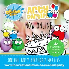 Online Arty Party Standard Hosting