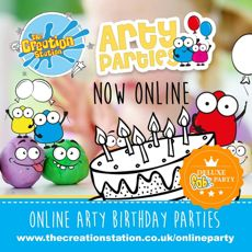 DELUXE UNICORN 'Fun Arty Box' Party Buy one for each child -with FREE DELIVERY