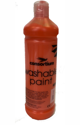 Cons wash paint red