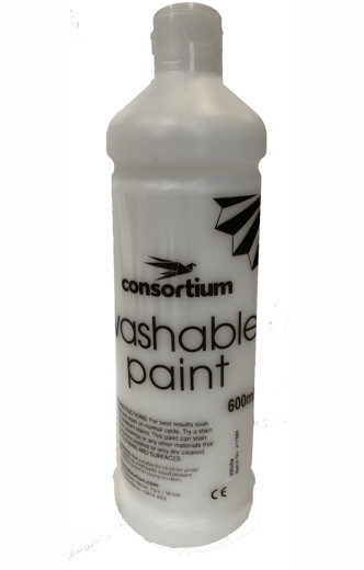 Cons wash paintwhite