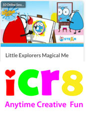 ICR8 Little Explorer Magical Me Programme - Anytime Online
