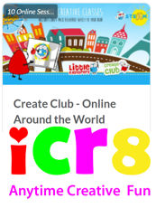 ICR8 Create Club Around The World Programme with crafts