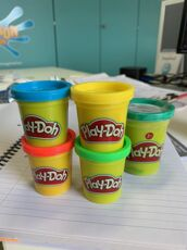 Play-Doh Charity Box, 60 half sizes