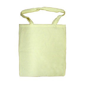 Canvas Shopping Bag for Fabric Painting