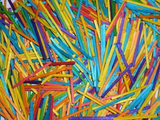 Coloured Matchsticks x 2000