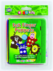 Felt Finger Puppets Kit