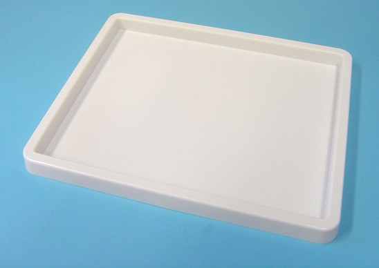 White Rectangle Painting Tray
