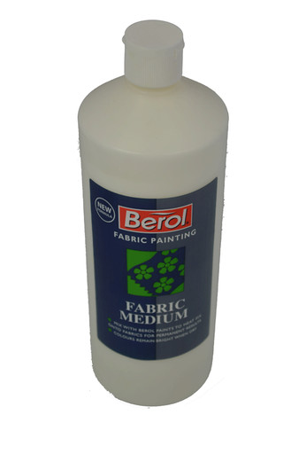 Fabric Medium to make fabric paint x 1l