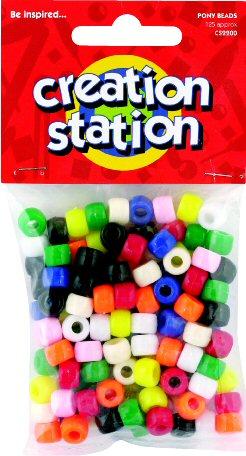 Pony Beads  x 125