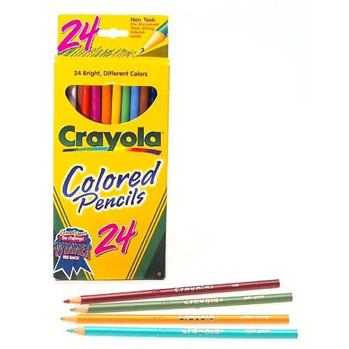 Crayola Coloured Pencils x 24
