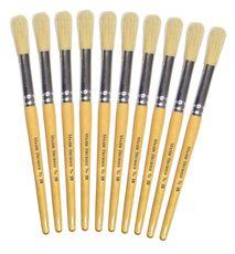 Hog Hair Brush size 18 x 10 pack