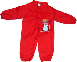 Childrens painting Overalls  and Splashsuit