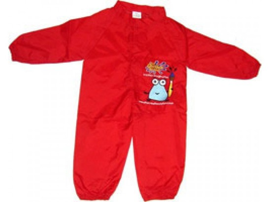 Childrens Painting Overall / Splashsuit - Large