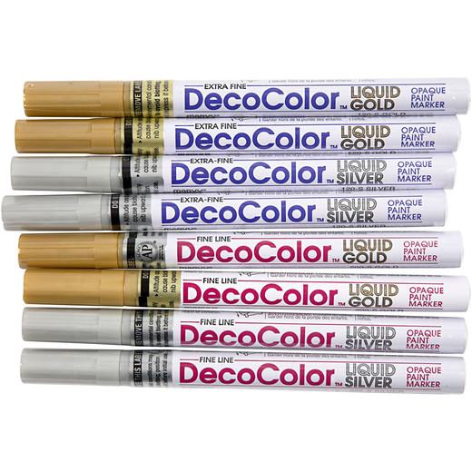 Deco permanent markers